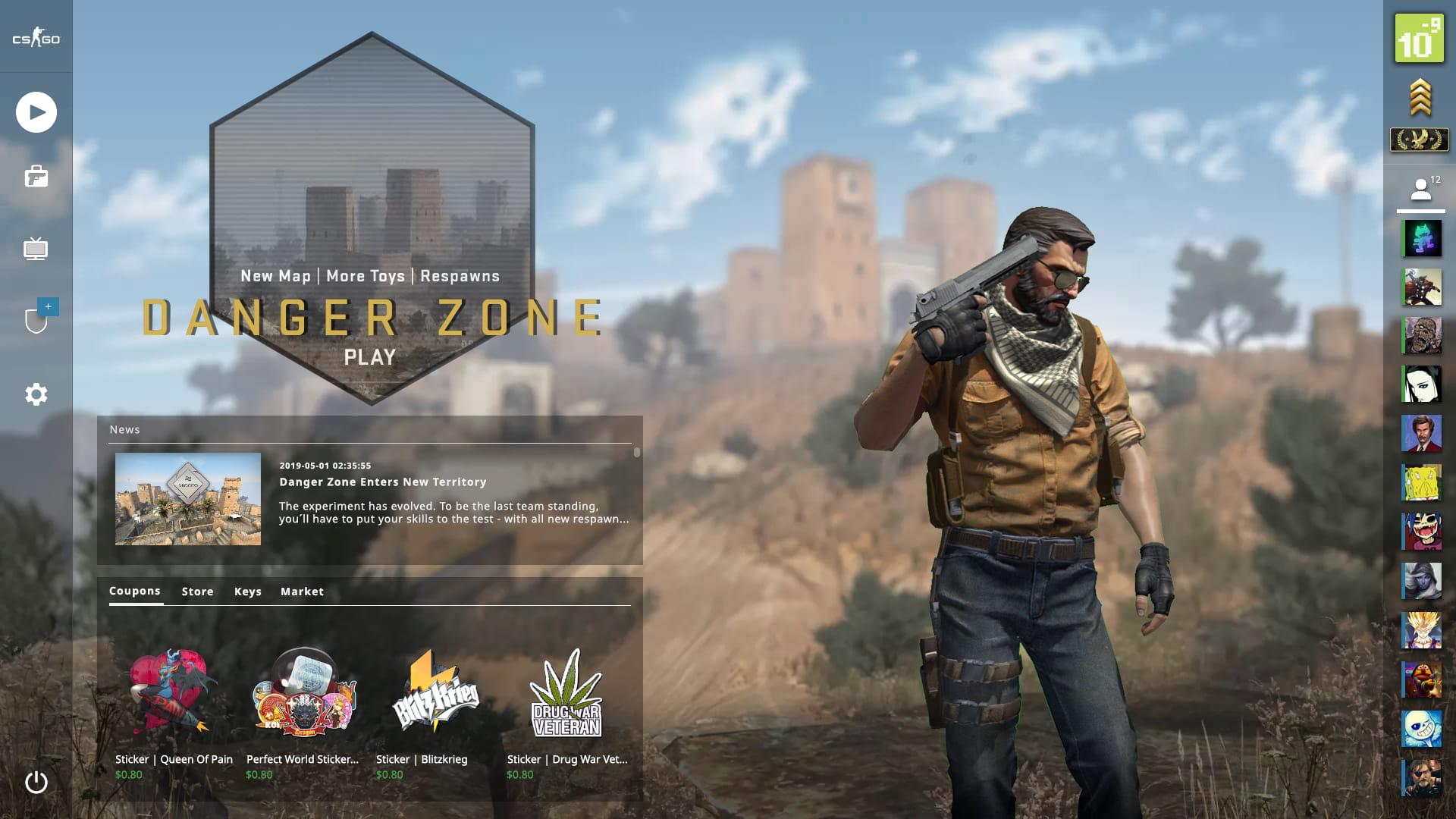 CS:GO Panorama Backgrounds